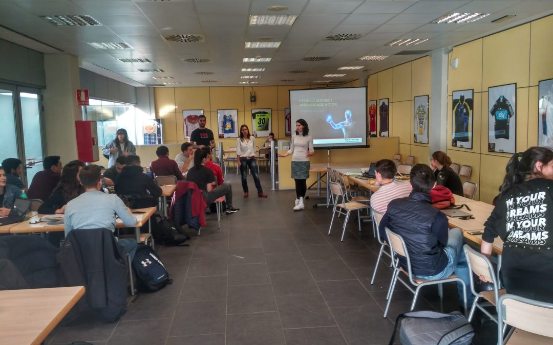 """La professora del Grau en CAFE Dra. Raquel Font estrena el cicle de conferències """"Ciència a la taula"""""""