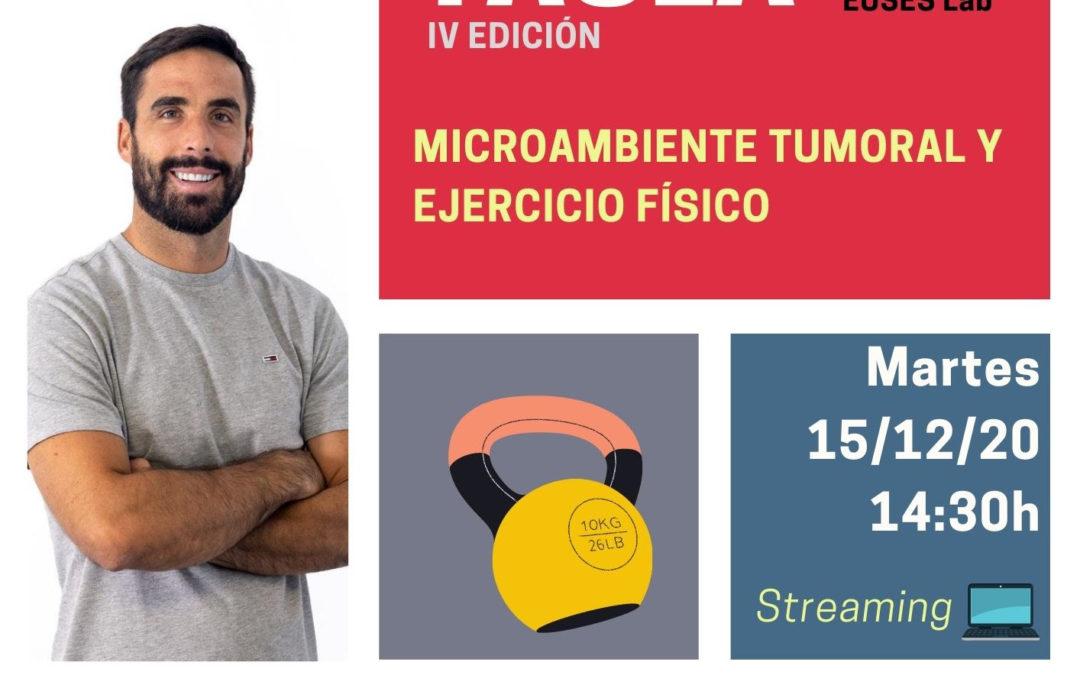 """El cicle """"Ciència a la Taula"""" torna el dia 15, amb Adrián Castillo com a ponent i en format """"on-line"""""""