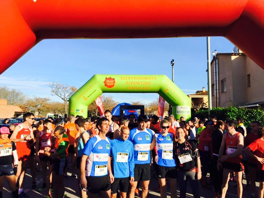 """EUSES UdG, present en """"La Medieval"""", la mitja marató de Castelló d'Empúries"""