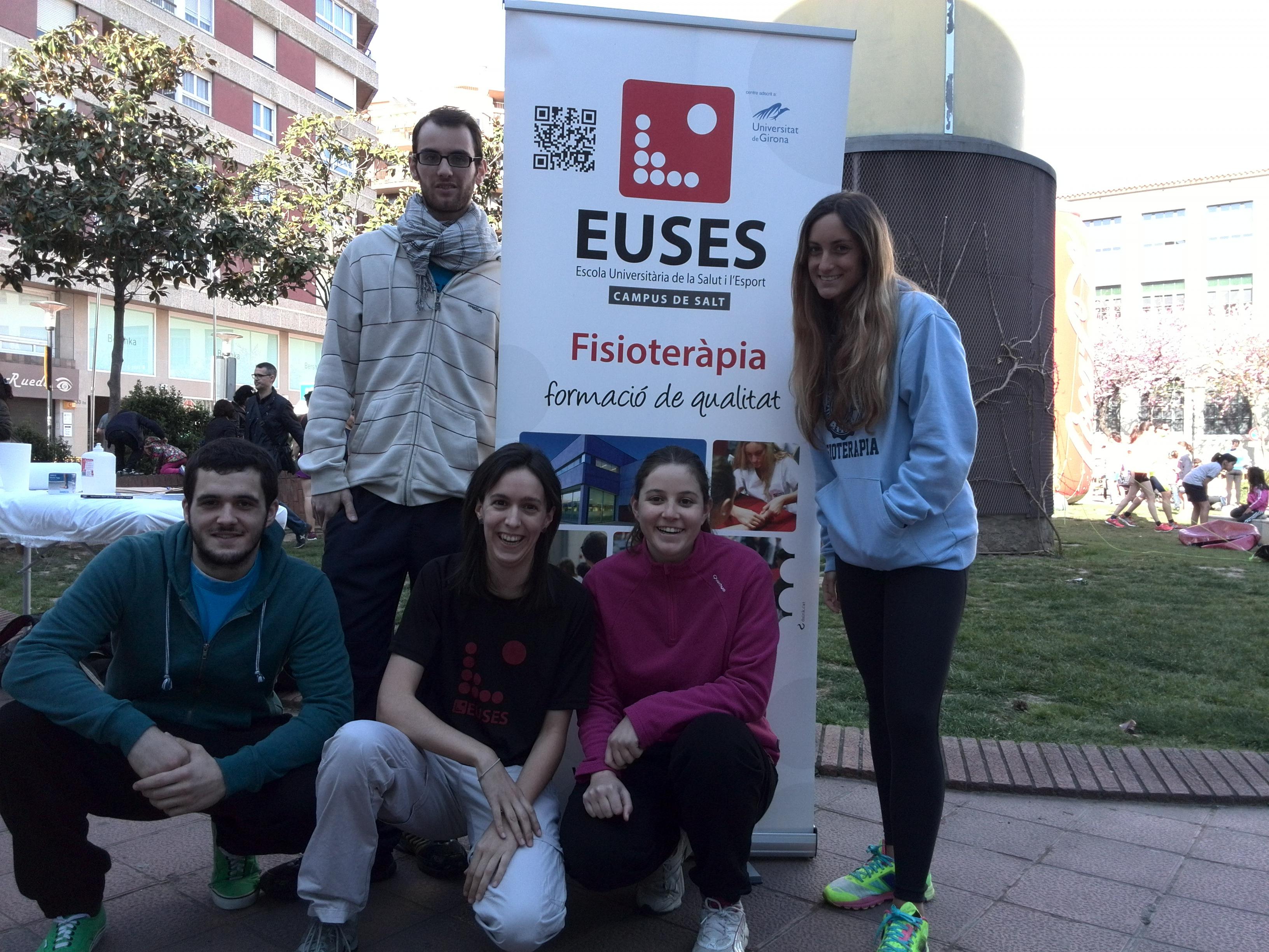 EUSES col·labora en la recuperació dels esportistes en la cursa d'Esports Parra