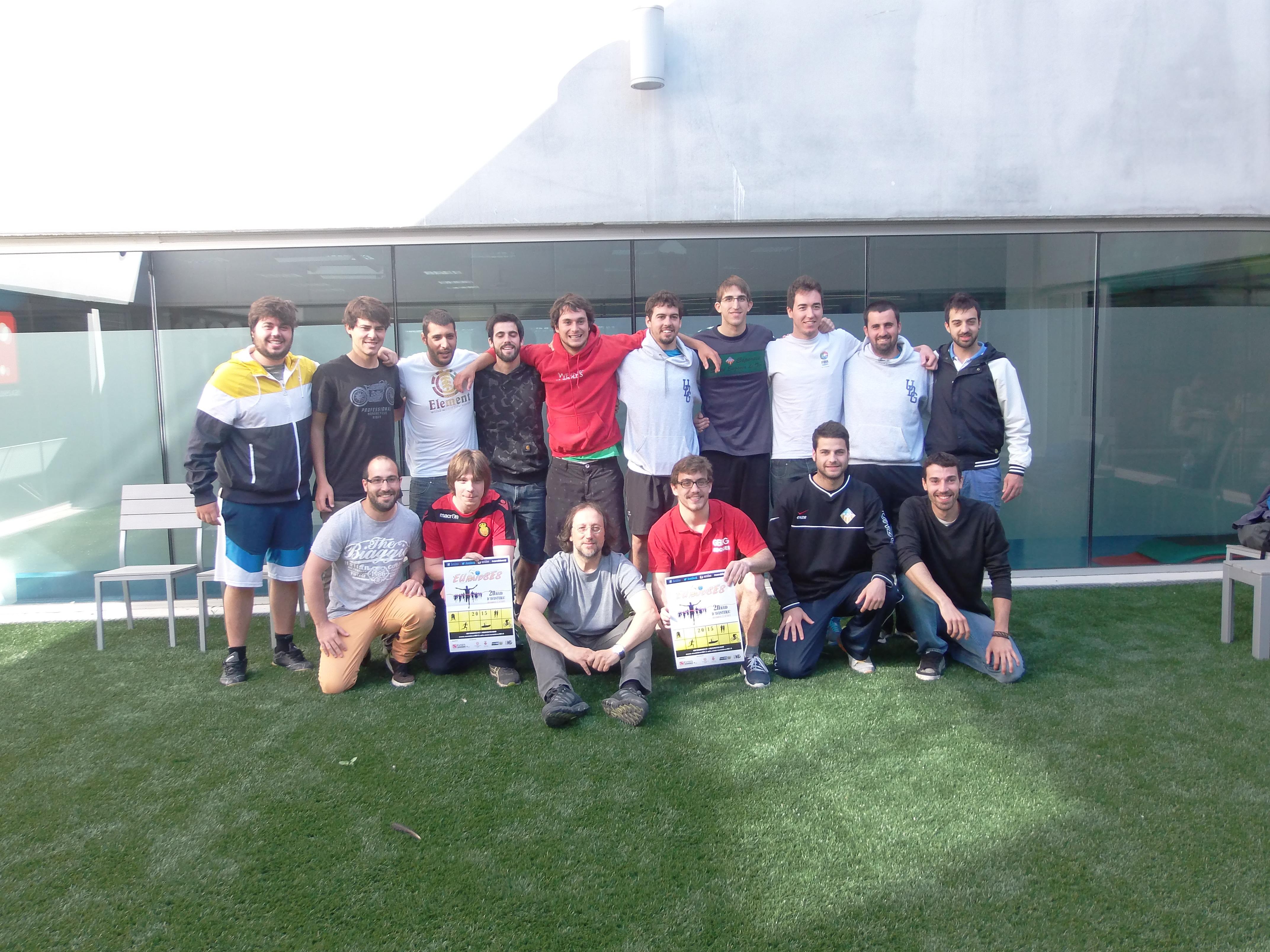 """L'equip """"Aerobics"""" s'imposa en la 2a edició de l'Euraidses, organitzat pels alumnes de 3r de CAFE"""