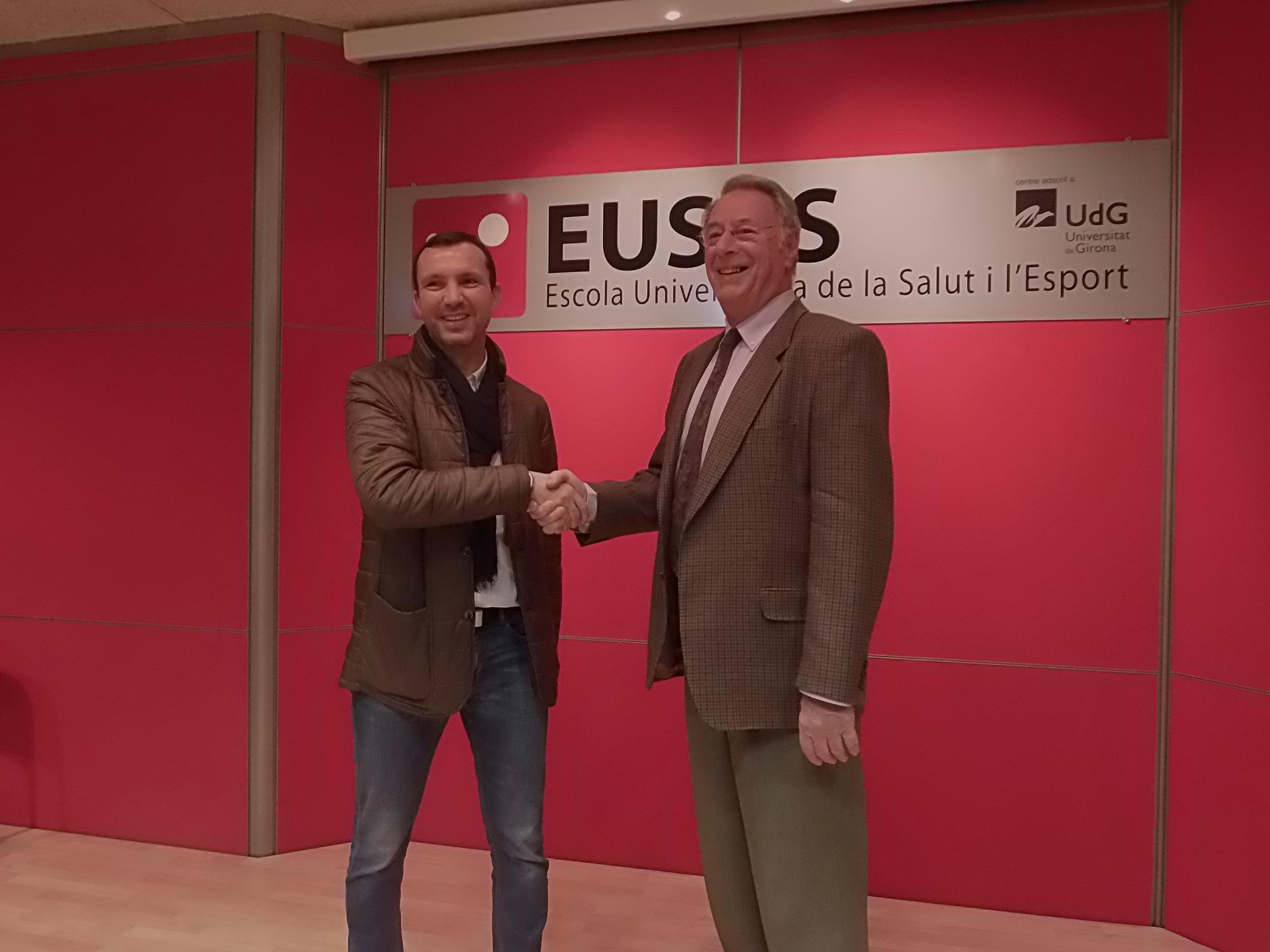 EUSES UdG signa un conveni de col·laboració amb l'Associació Girona Judo