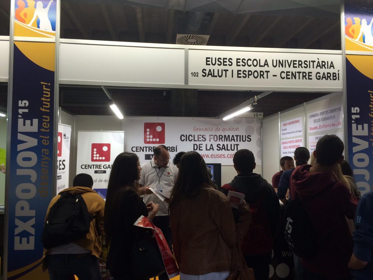 EUSES-UdG i Centre Garbí ofereixen els seus graus i cicles formatius a la Fira Expojove