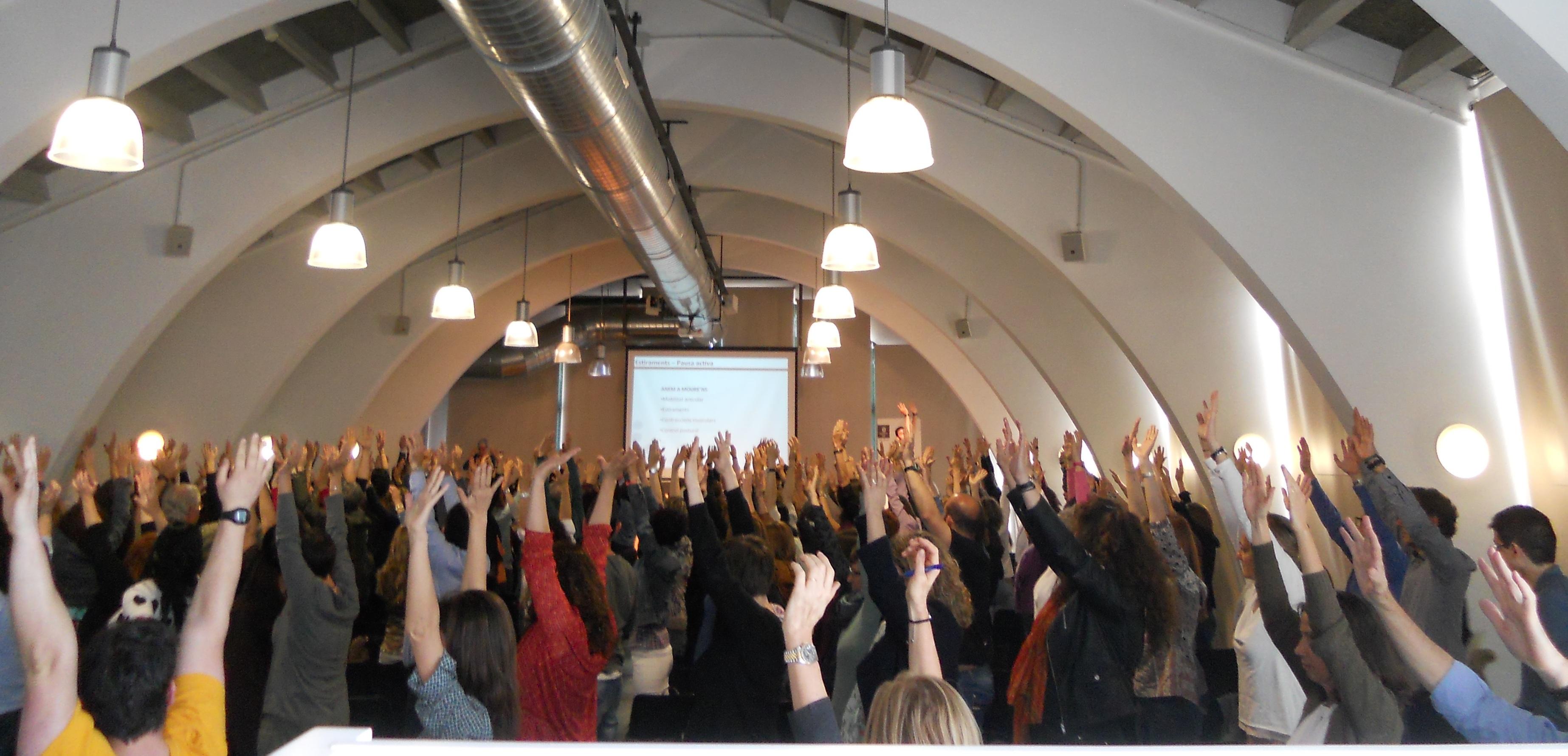 EUSES present a la 1a Jornada de Salut Comunitària de Girona