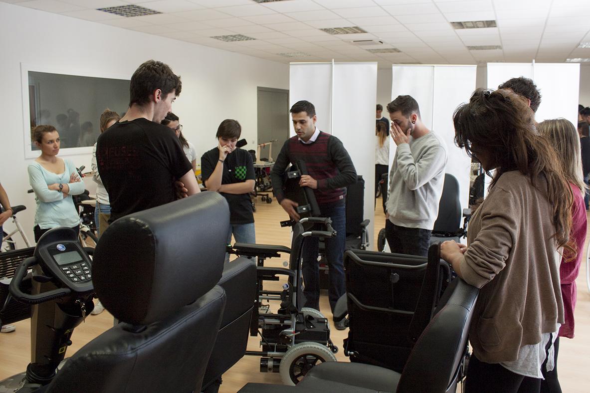 Alumnes de 4t curs del Grau en Fisioteràpia visiten les instal·lacions de Rehagirona