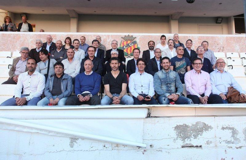 El professor del Grau en CAFE Jordi Grabulosa, guardonat pels seus més de 200 partits amb el Nàstic