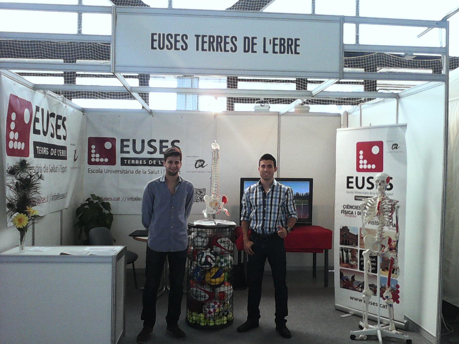 EUSES TE-URV, present a la fira multisectorial de les Terres de l'Ebre, Expoebre