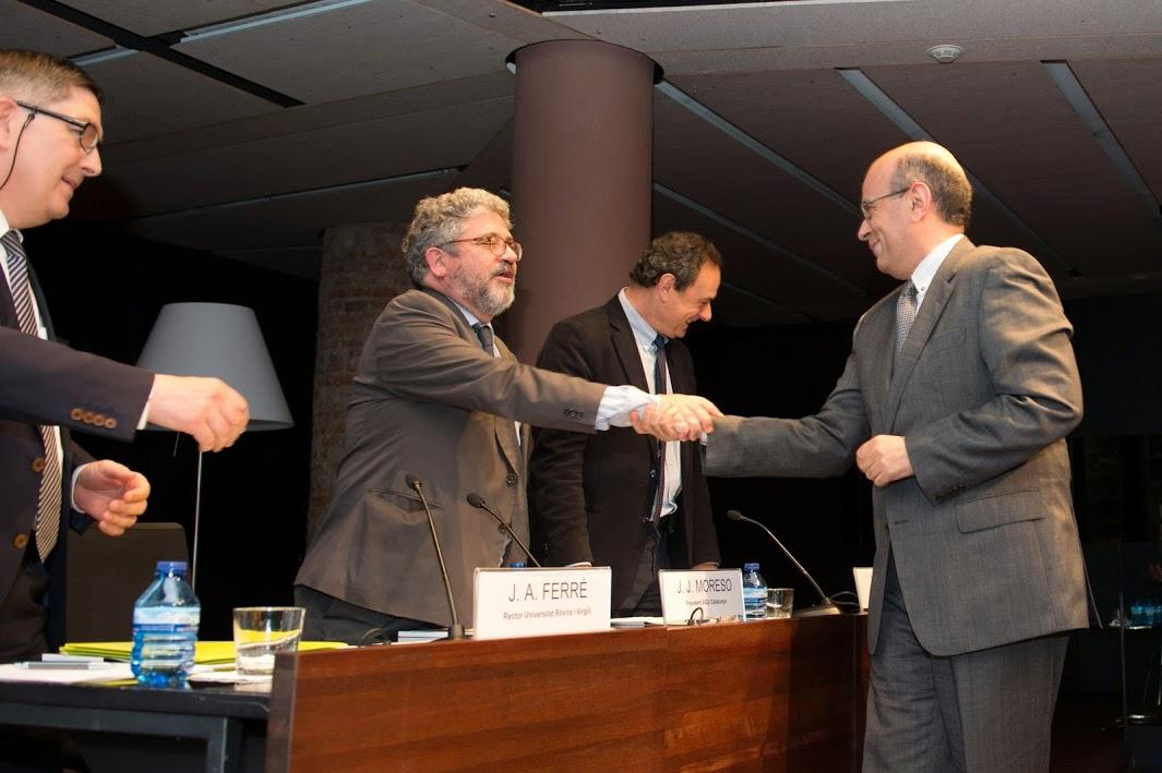 EUSES rep l'Acreditació de l'Agència per a la Qualitat del Sistema Universitari de Catalunya