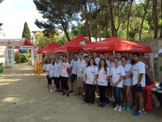 EUSES TE-URV participa en la 15a edició de la cursa de Tortosa de la UEC