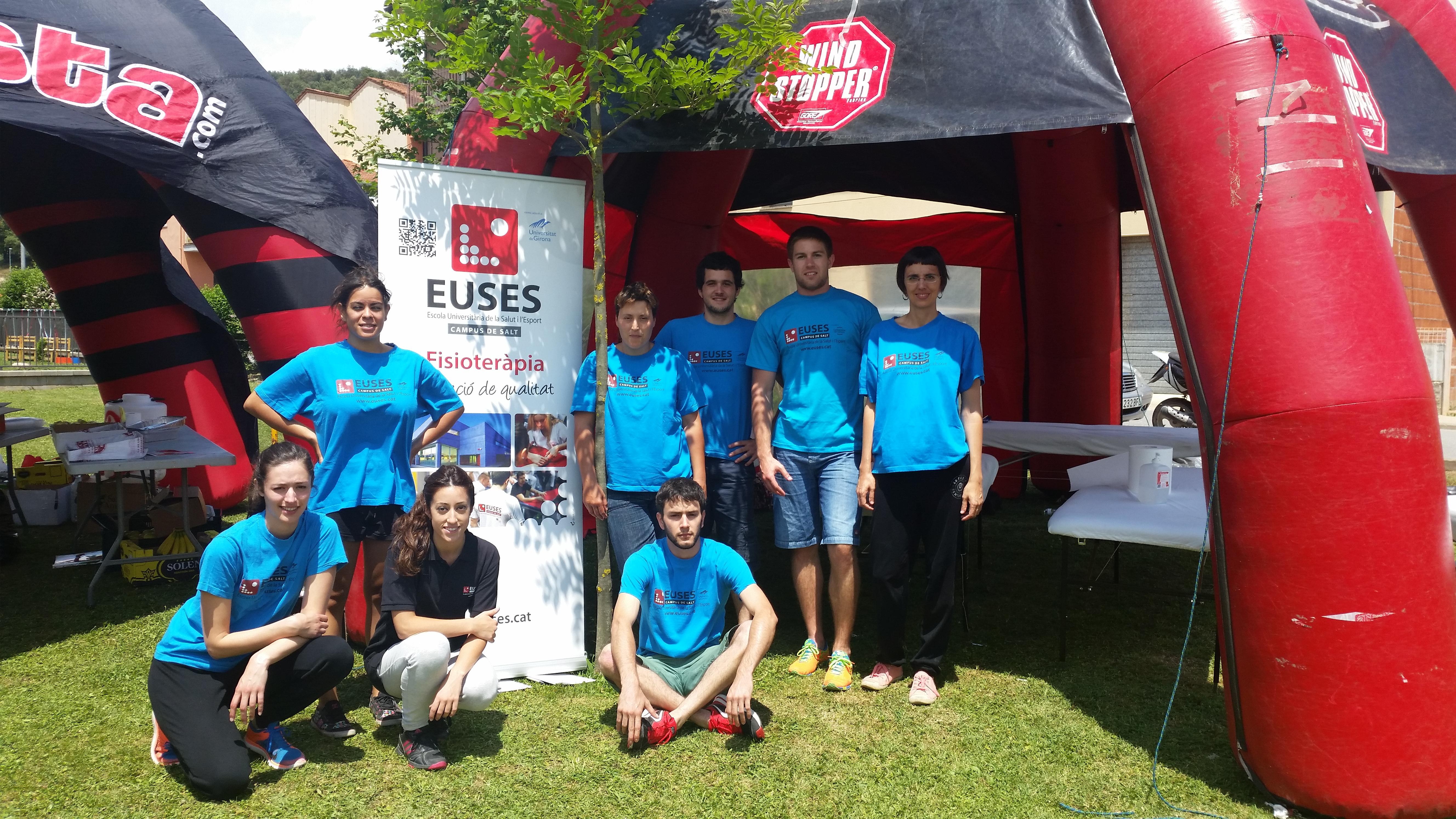"""EUSES col·labora en la primera edició del """"Cames de Ferro"""" al Puigsacalm"""