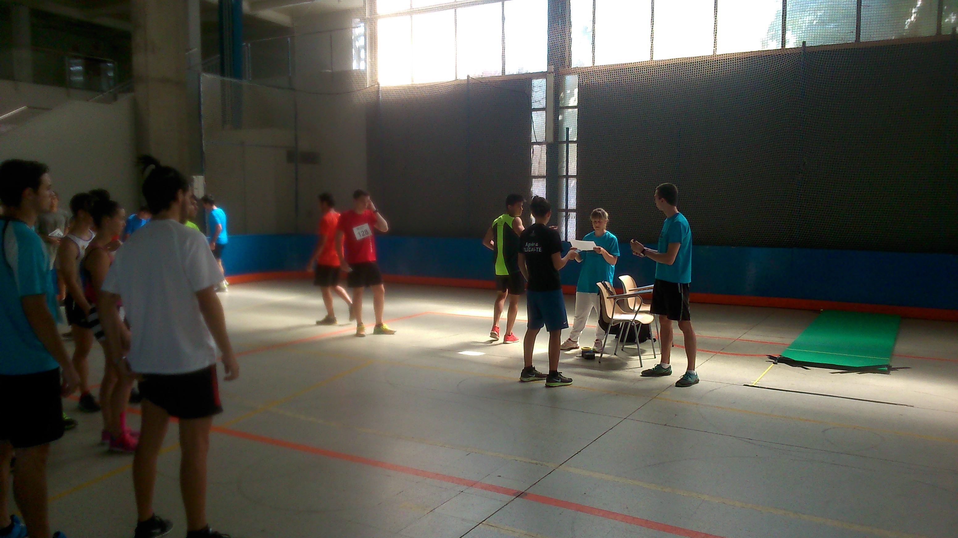 EUSES-UdG realitza les Proves d'Aptitud Personal a la zona esportiva municipal de Salt