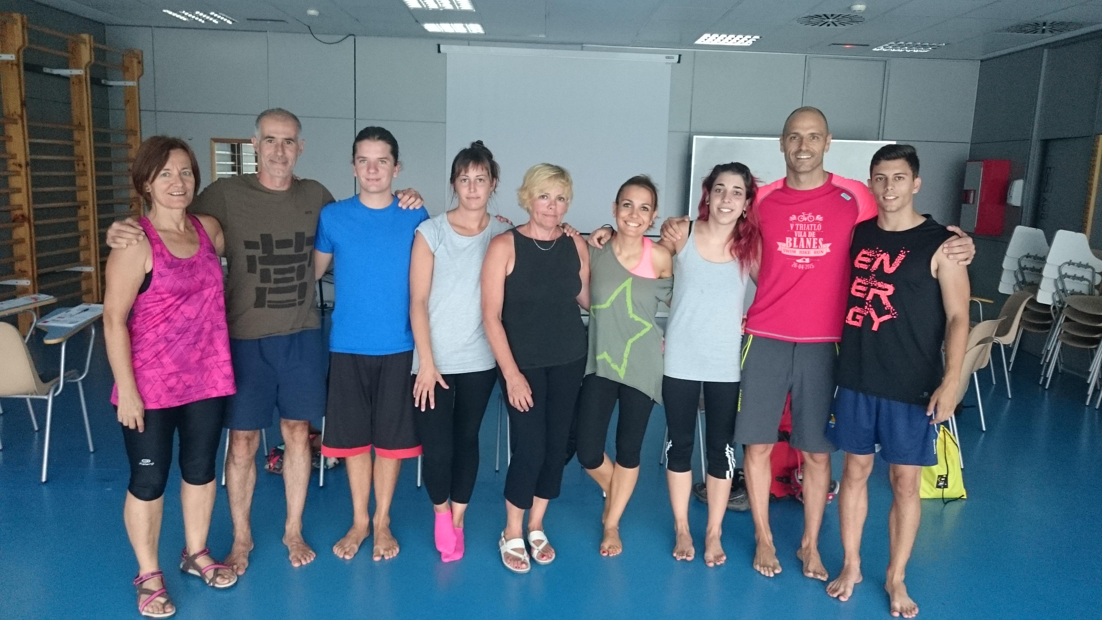 Finalitzat a EUSES el curs d'estiu sobre el llenguatge del cos: postura, consciència i intel·ligència corporal
