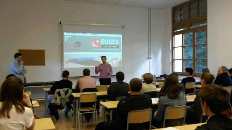 Grau en Fisioteràpia: La millor formació la trobaràs a EUSES Campus de l'Ebre. Matrícula oberta. Últimes places