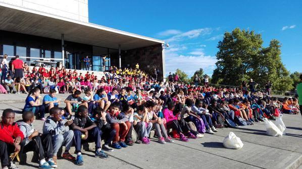 Més de 600 alumnes de primària i secundària de Girona i Salt, a les jornades de sensibilització del projecte CreaXarxa