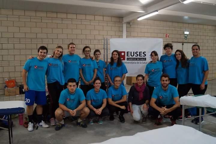 EUSES s'aboca amb l'Oncotrail amb 22 estudiants del Grau en Fisioteràpia a Pals i Palafrugell
