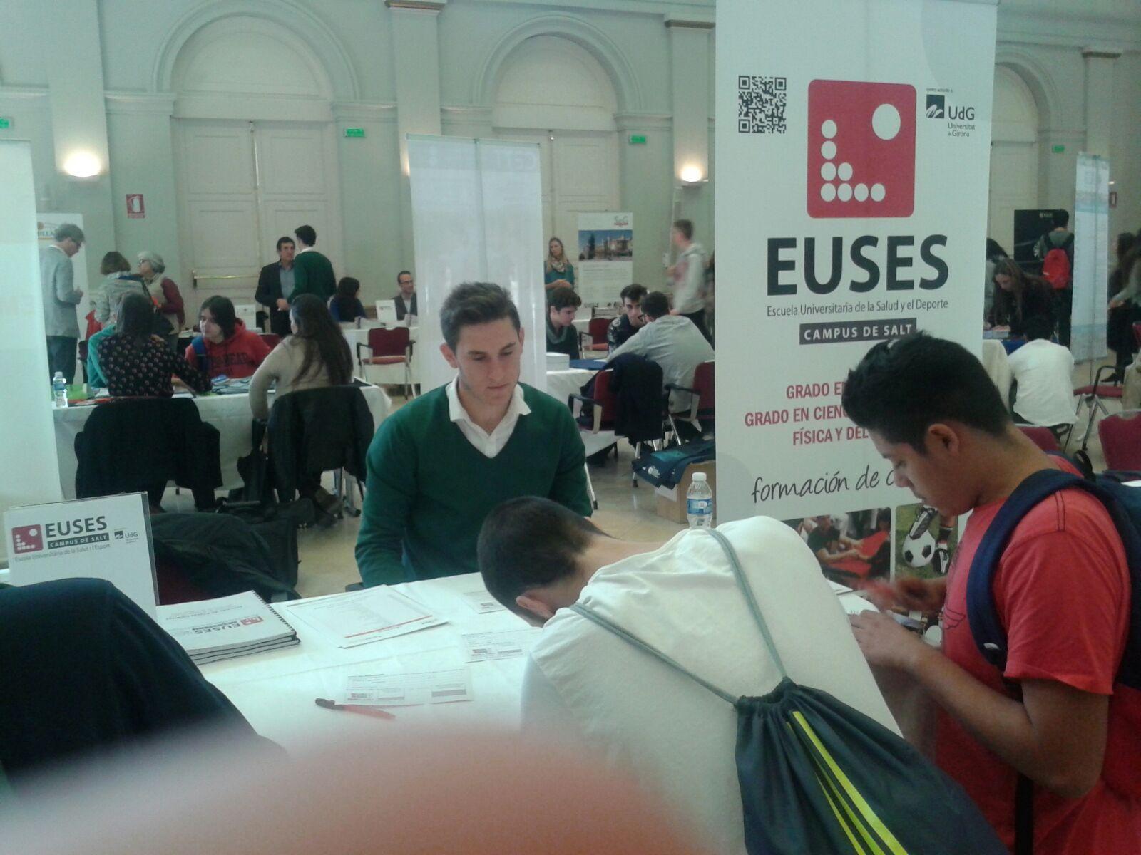 EUSES presenta tota la seva oferta de graus a Palma de Mallorca, en el Saló Unitour 2015/16