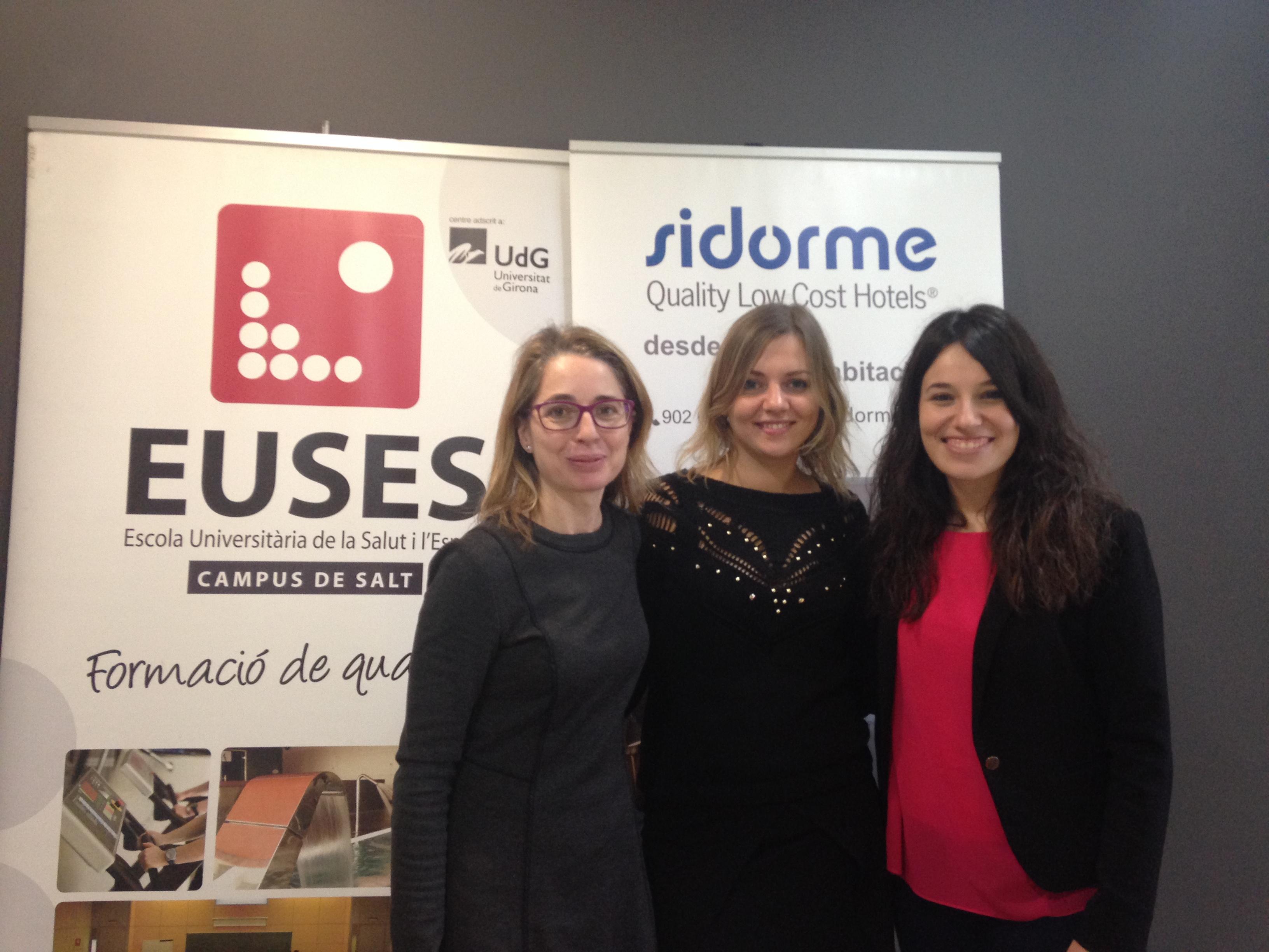 EUSES Alumni renova el conveni amb la cadena d'hotels Sidorme, amb descomptes per a alumnes i associats