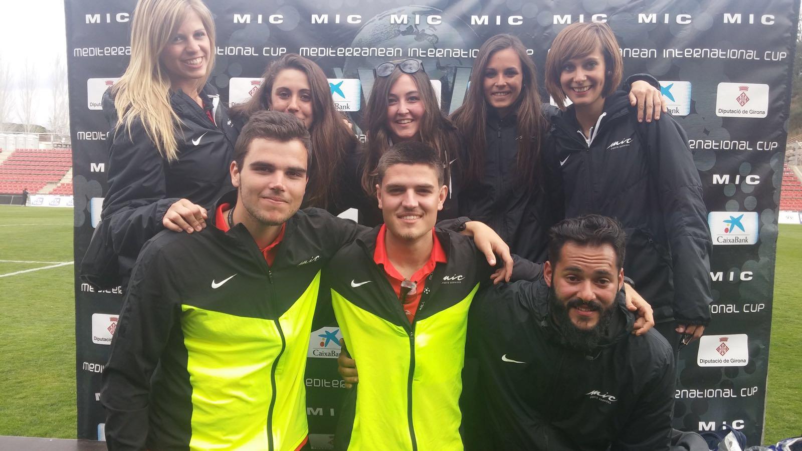 L'Escola Universitària de la Salut i l'Esport col·labora un any més en el torneig MIC (Mediterranean International Cup)