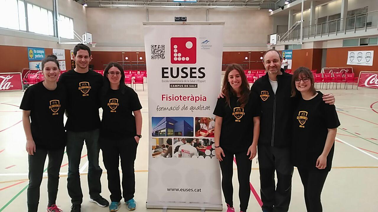 L'Escola Universitària de la Salut i l'Esport col·labora en el Global Basquet Experience, celebrat a Lloret de Mar