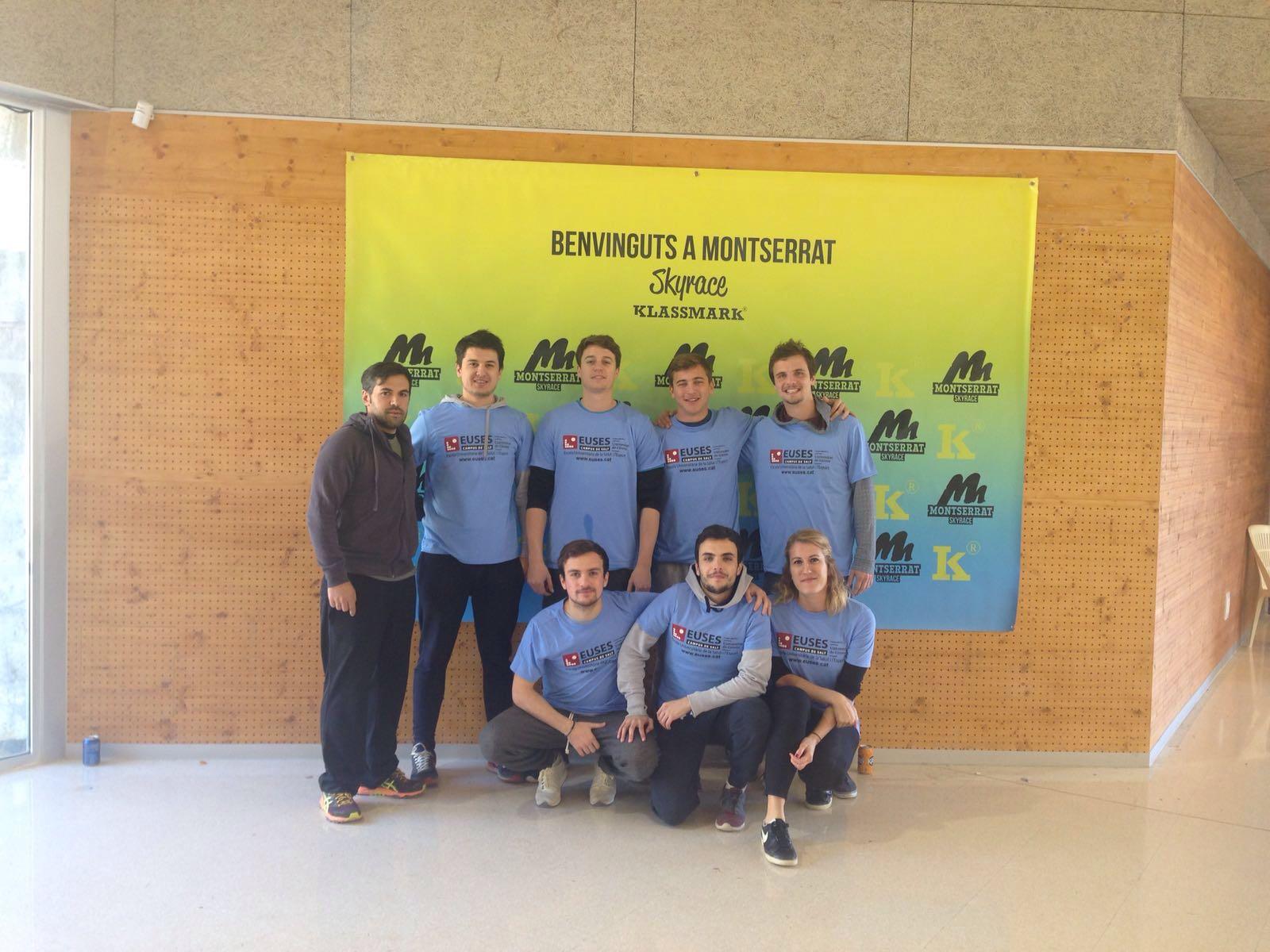 L'Escola Universitària de la Salut i l'Esport col·labora en la Montserrat Skyrace 2016