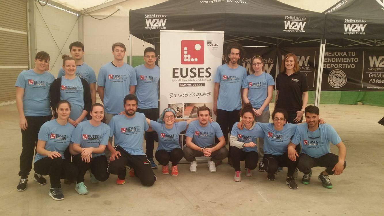 L'Escola Universitària de la Salut i l'Esport, present en la cursa internacional de Mountain Bike Extreme Gavarres IRC