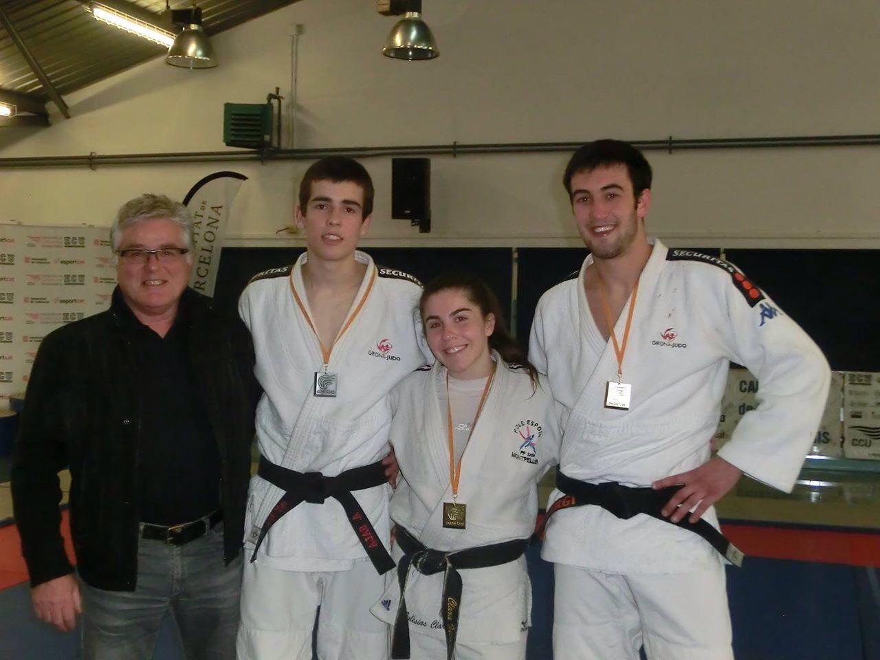 Un or i una plata per a dos alumnes d'EUSES-UdG en el campionat de Catalunya universitari de judo