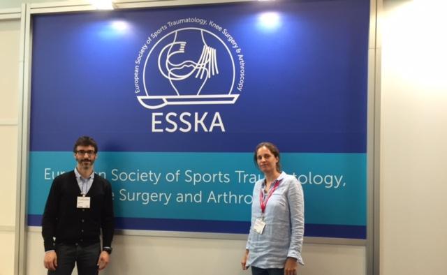 Els professors d'EUSES Dra. Azahara Fort i Dr. Gabriel Gual participen en el 17th ESSKA Congress celebrat a Barcelona