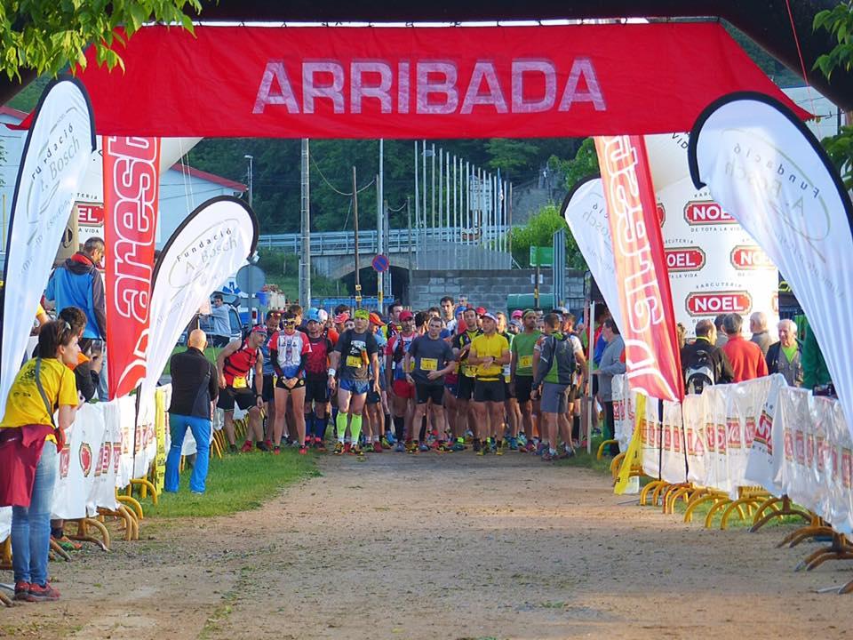 L'Escola Universitària de la Salut i l'Esport col·labora en una nova edició de la cursa de muntanya Cames de Ferro