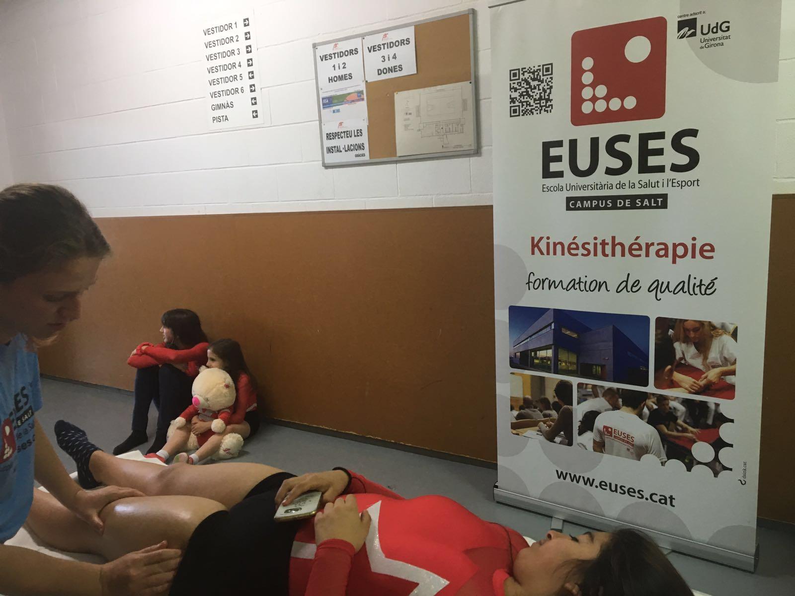 EUSES aporta tutors i alumnes del Grau en Fisioteràpia als Jocs Emporion celebrats al Pla de l'Estany