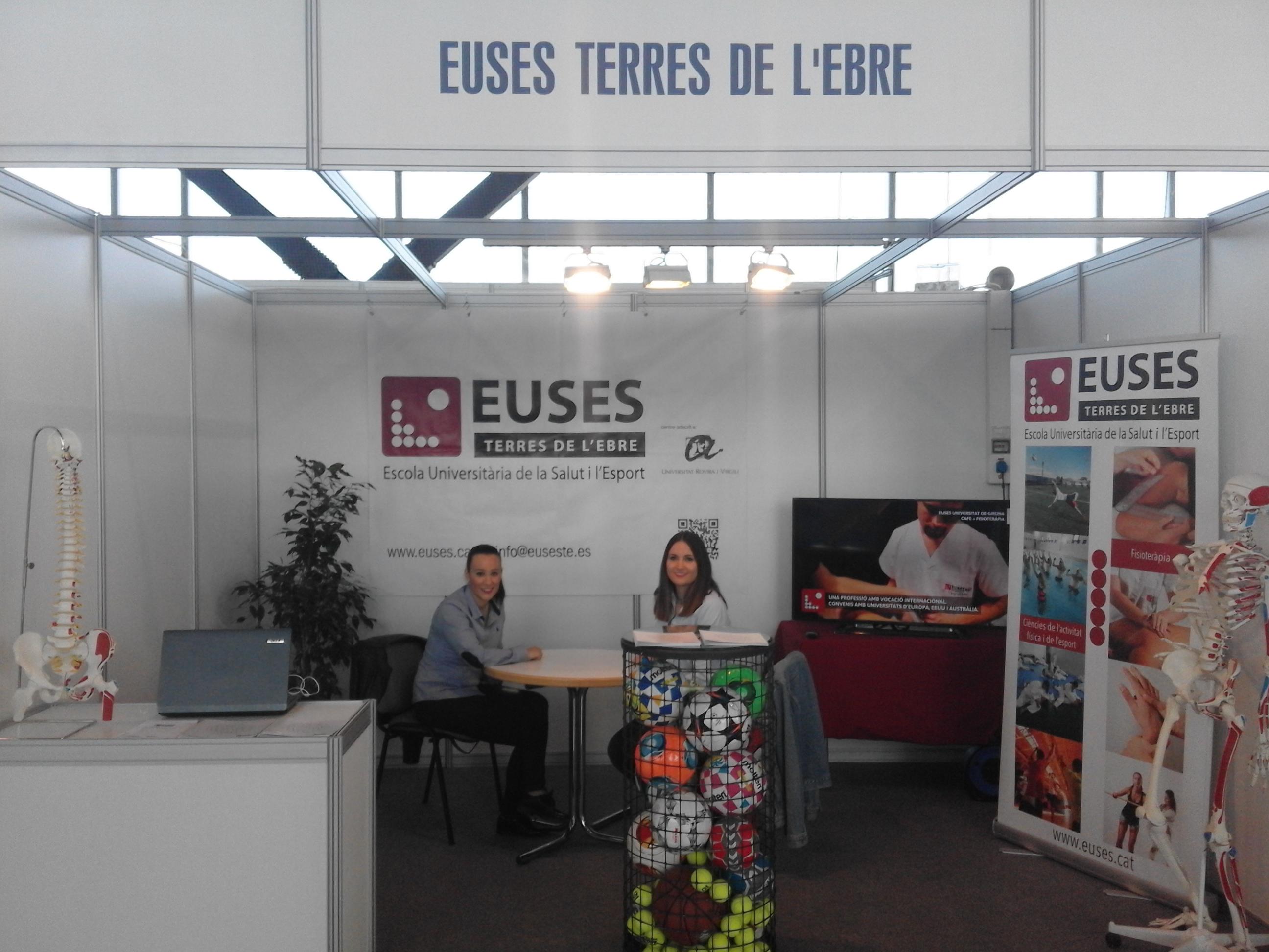 EUSES Terres de l'Ebre-URV, present en una nova edició de la Fira Expoebre, a Tortosa
