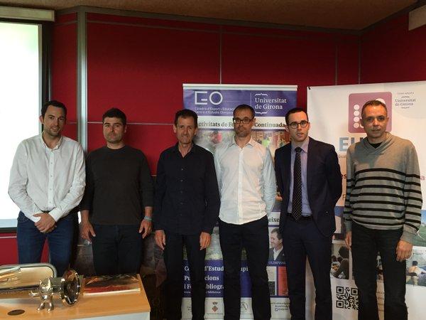 Celebrada la Jornada Olímpica organitzada per EUSES, amb Fernando Climent, Carles Torrent i Eric Villalón