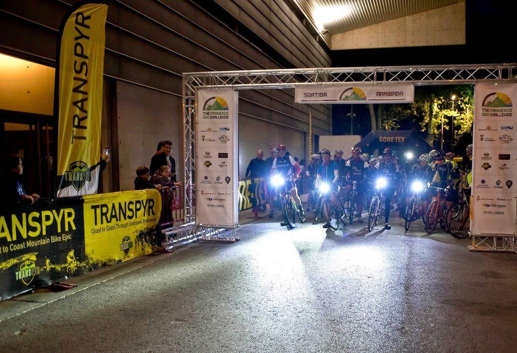 EUSES recupera els ciclistes de la Pirinexus, una prova de 360 quilòmetres de recorregut