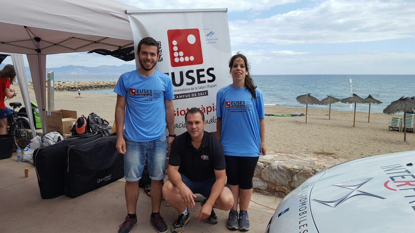 EUSES recupera els nedadors de la primera prova del circuït Open Water Tour celebrada a l'Escala