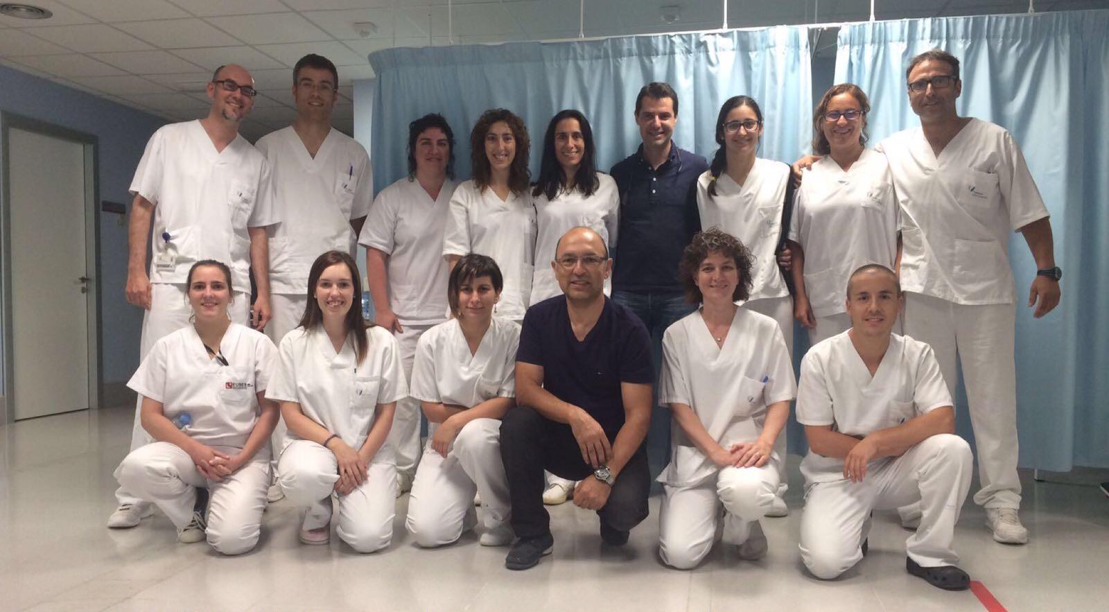 EUSES realitza a l'Hospital de Figueres un curs d'especialització en les lesions de l'espatlla