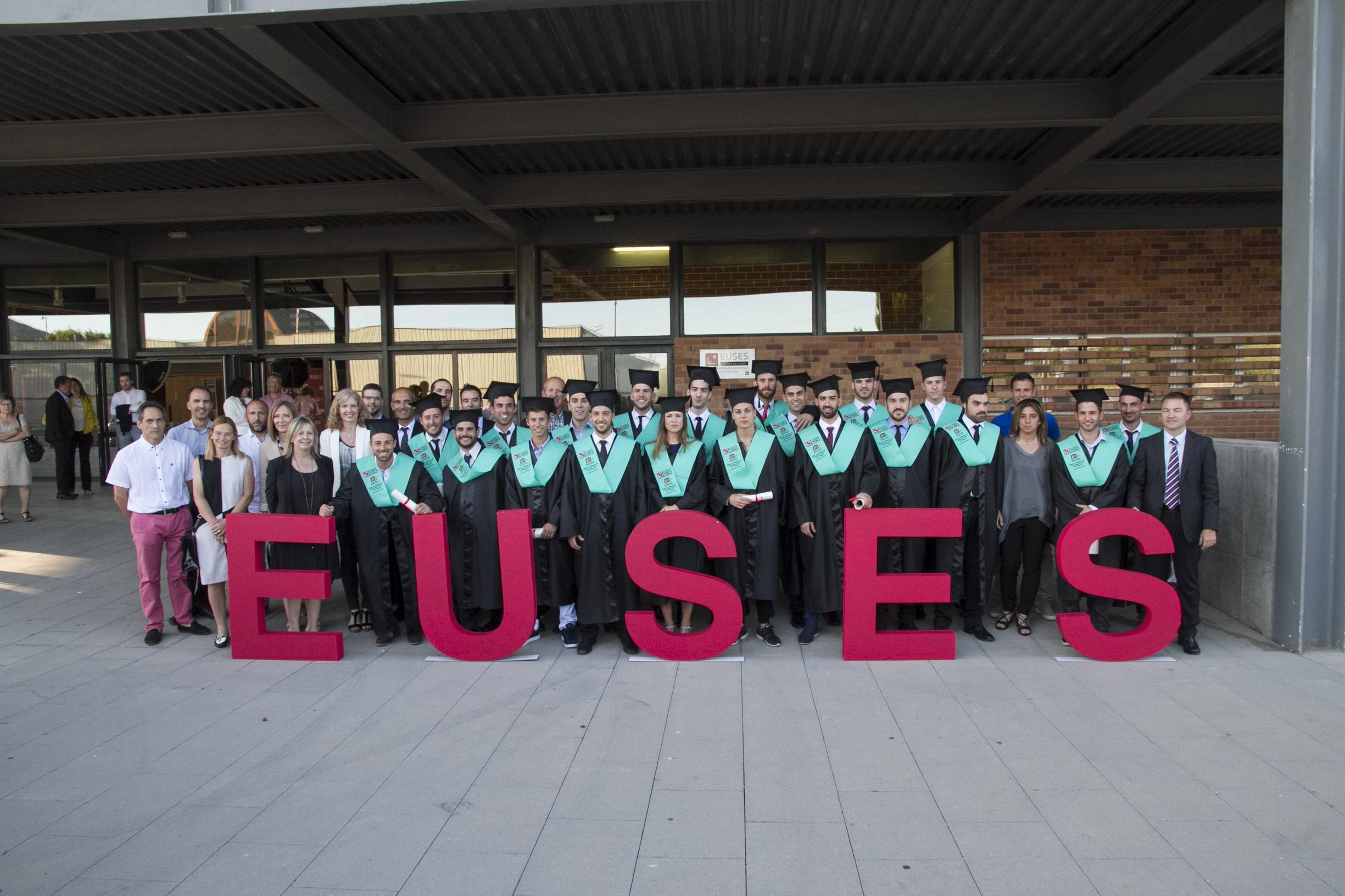 Surt d'EUSES Terres de l'Ebre-URV la primera promoció de graduats en Ciències de l'Activitat Física i l'Esport