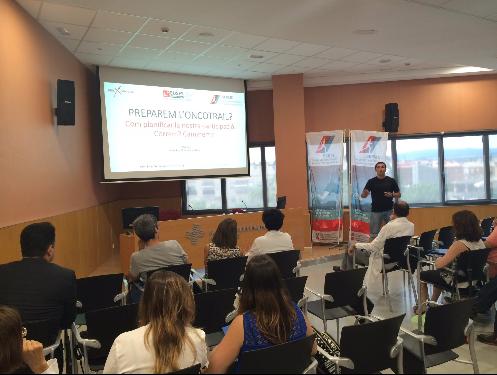 Ponència del professor de CAFE d'EUSES Xevi Salvador sobre la planificació de la preparació d'un esdeveniment esportiu