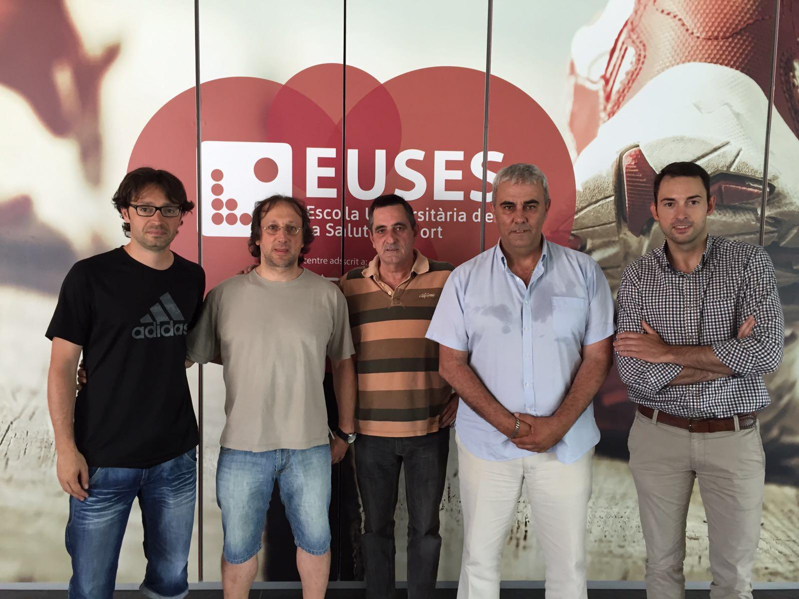 L'Escola Universitària de la Salut i l'Esport signa un acord de col·laboració amb la Federació Catalana d'Handbol