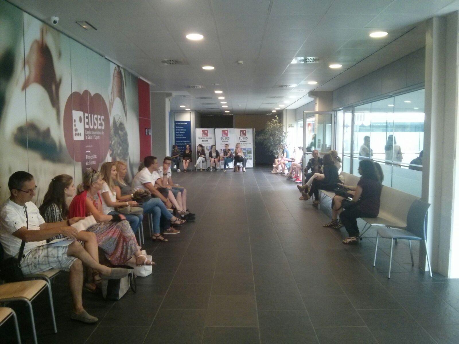 Jornada de matriculacions a EUSES-UdG i a EUSES-URV dels Graus en Fisioteràpia i en CAFE