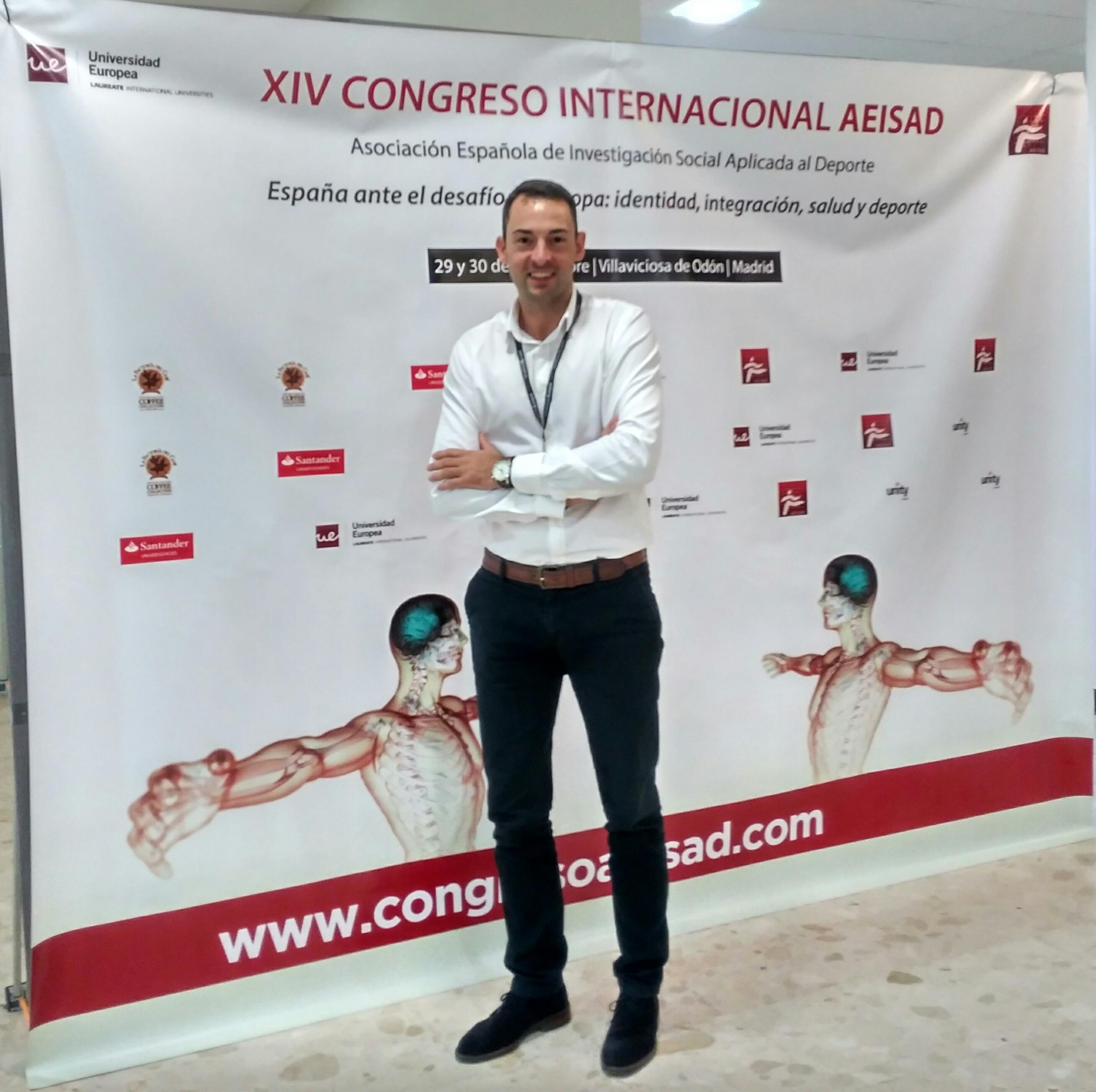 Adrià Martín, director de CAFE d'EUSES-UdG, participa en el 14è Congrés Internacional AEISAD a Madrid