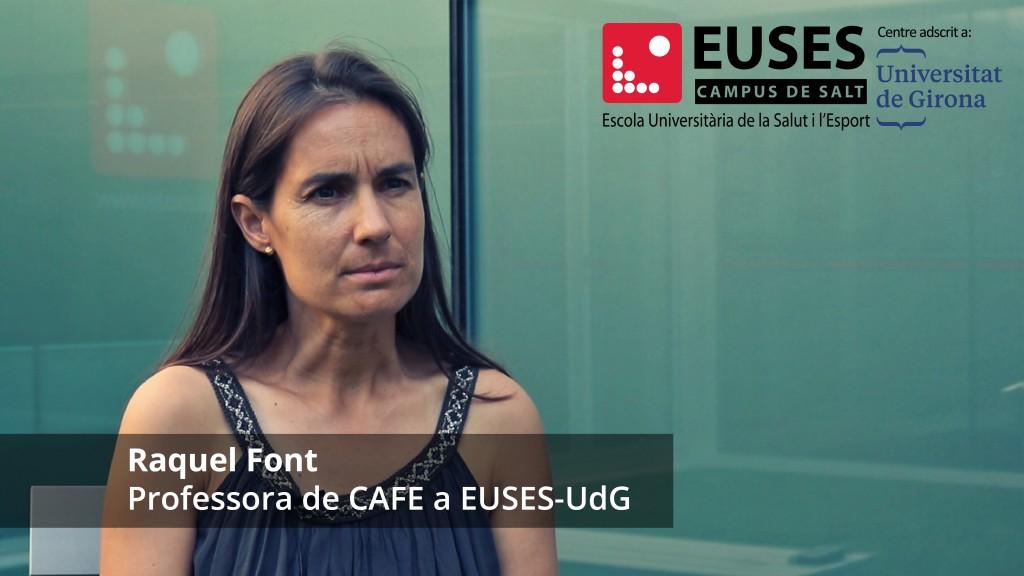 Coneixem el vessant més educatiu del Grau en Ciències de l'Activitat Física i de l'Esport amb l'assignatura Jocs i habilitats motrius bàsiques que imparteix la professora d'EUSES-UdG, Raquel Font Lladó