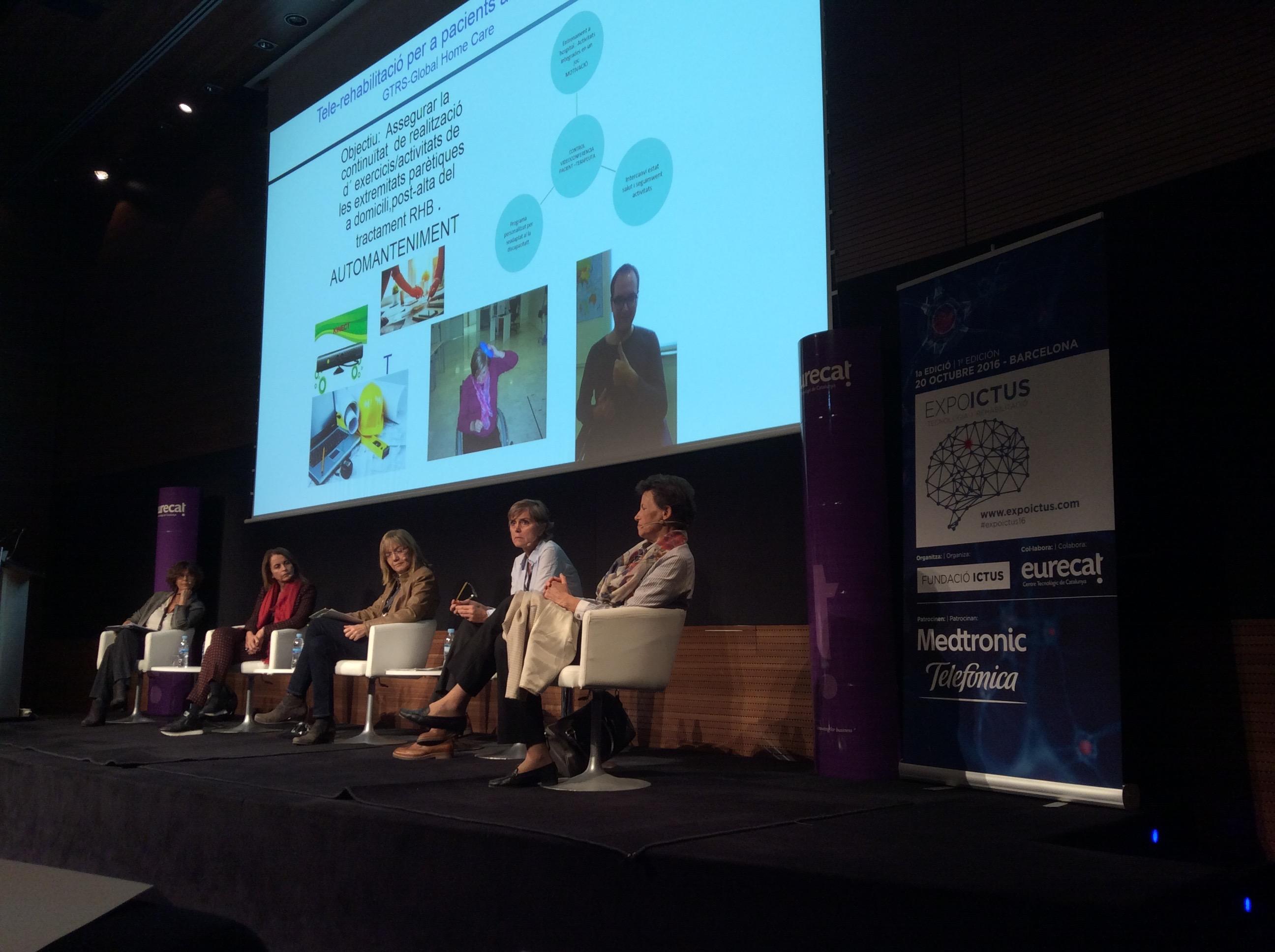 La professora de CAFE d'EUSES Miriam Barra participa al I Congrés Expoictus, celebrat a Barcelona