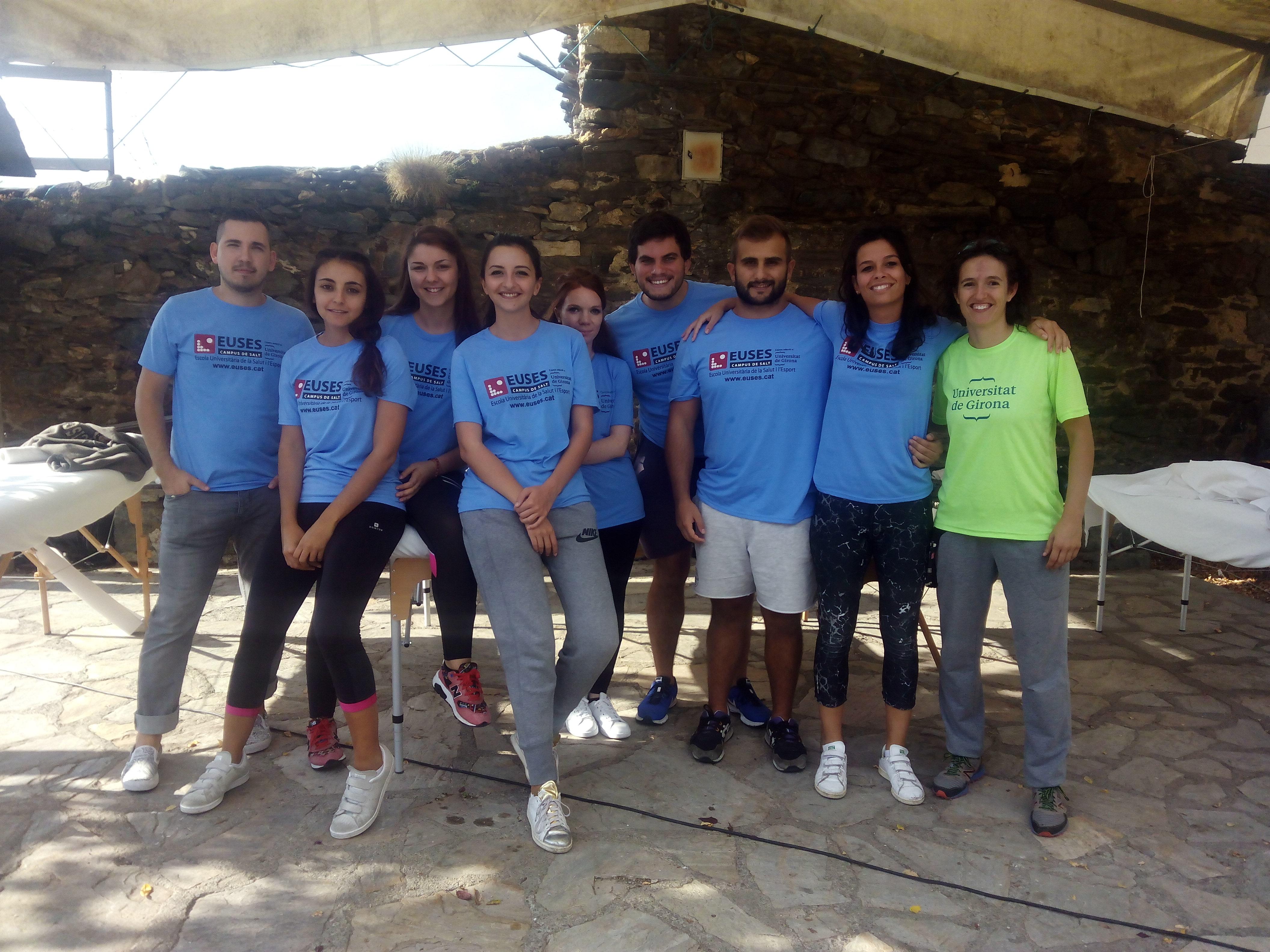 Alumnes del Grau en Fisioteràpia d'EUSES recuperen els participants de la Rogaine Serra Cavallera, celebrada a Pardines