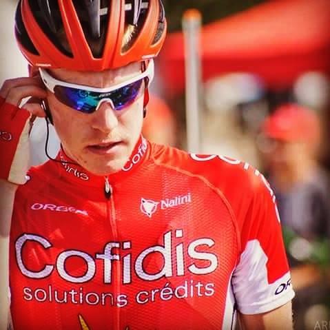 Primer podi com a ciclista professional de Dorian Godon (Cofidis), estudiant de 1r curs del Grau en Fisioteràpia a EUSES
