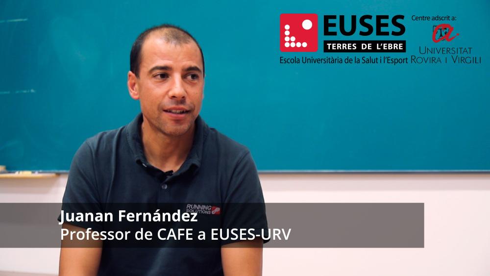 Com s'organitza una competició esportiva? Coneix l'assignatura: 'Gestió d'Esdeveniments Esportius', impartida pel professor Juanan Fernández al Grau en Ciències de l'Activitat Física i de l'Esport d'EUSES-URV