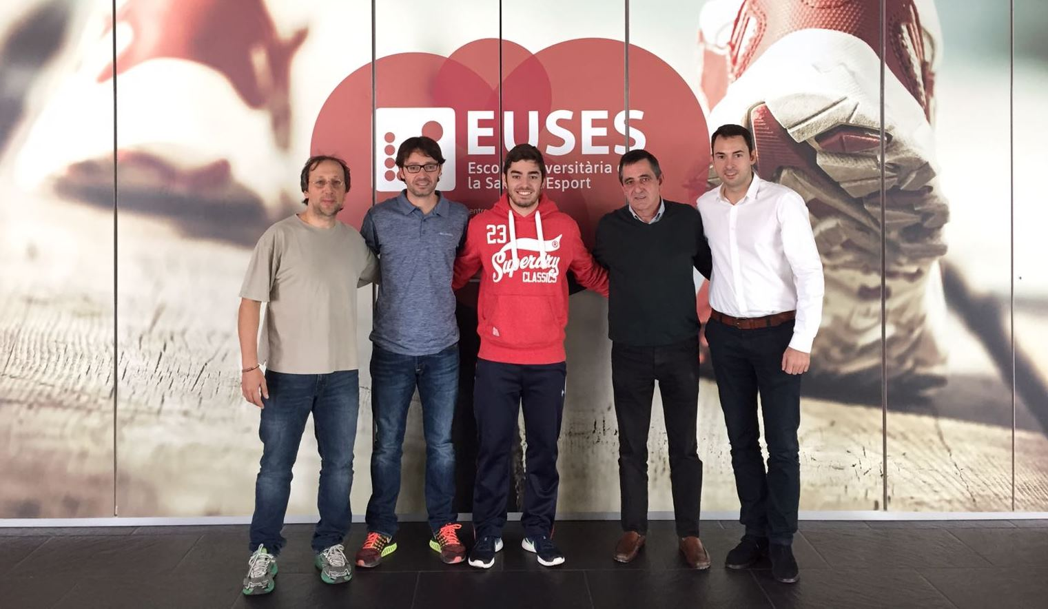 L'estudiant Eduard Fontanella s'adjudica les pràctiques extracurriculars amb la Federació Catalana d'Handbol