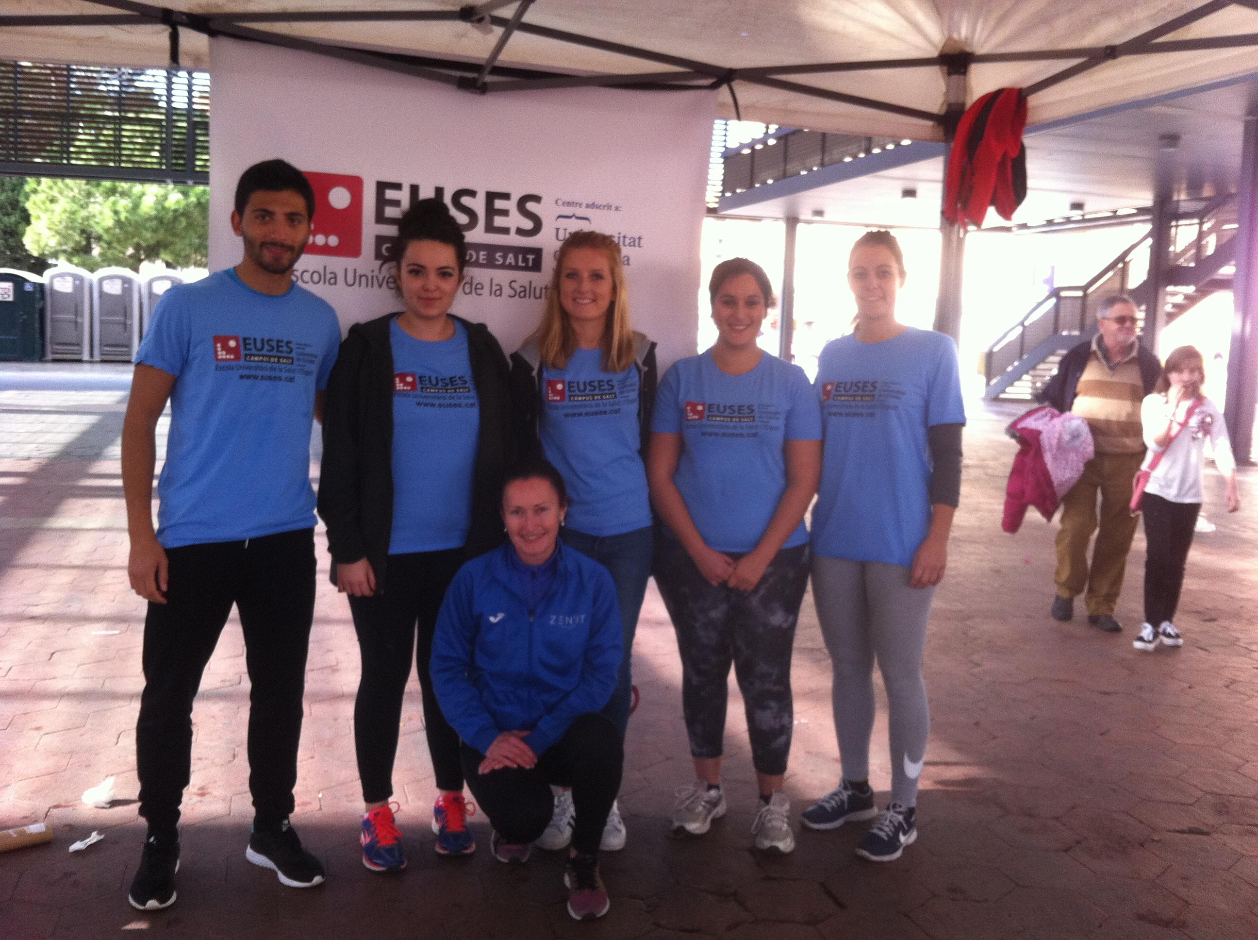 L'Escola Universitària de la Salut i l'Esport col·labora en la 1a edició de la Cursa de la Dona celebrada a Figueres