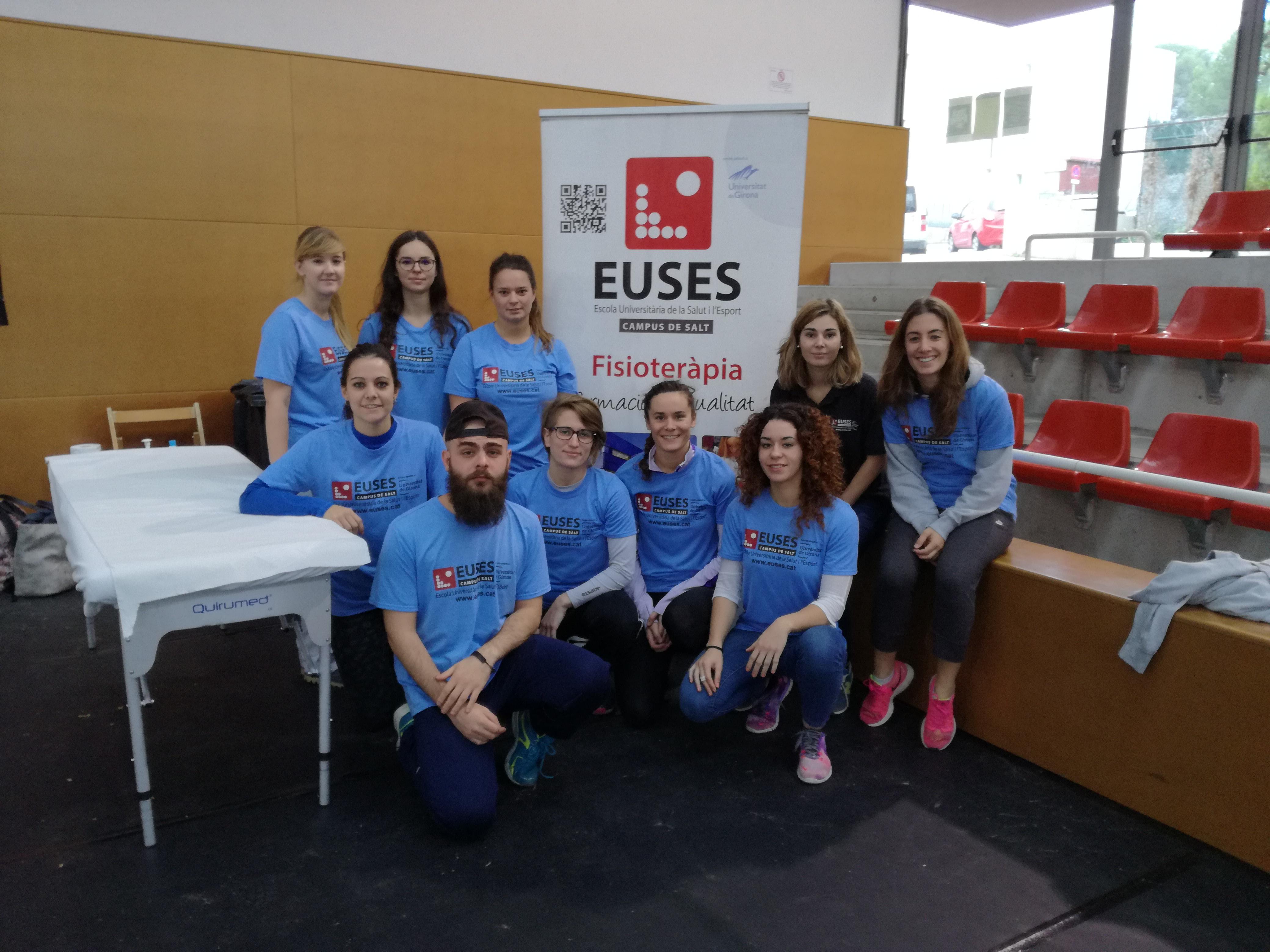 EUSES destina nou estudiants del Grau en Fisioteràpia a recuperar els participants de la Wefeel Trail Series a Cervelló