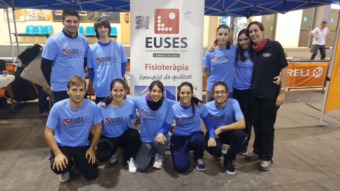 L'Escola Universitària de la Salut i l'Esport recupera els participants de la 7a edició de la Marató de Muntanya de l'Ardenya