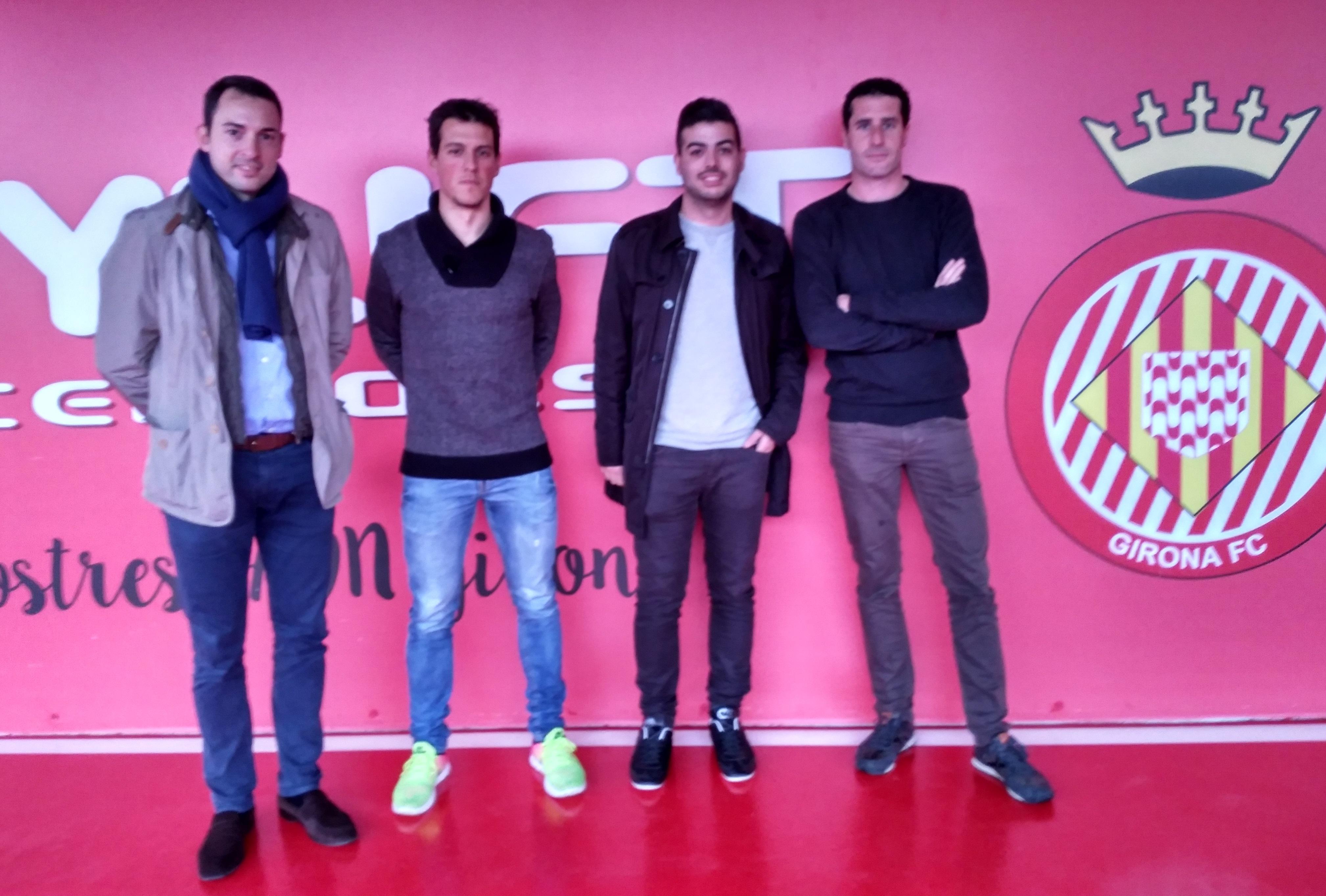 Dos estudiants de 3r de CAFE, Joel Caparrós i Joel Vila, realitzaran les pràctiques extracurriculars al Girona FC