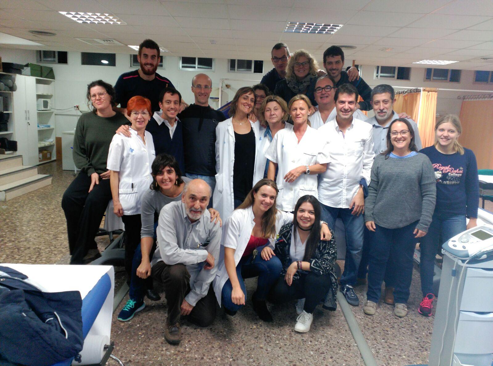 EUSES realitza un curs d'especialització en les lesions d'espatlla al CAC Güell de Girona